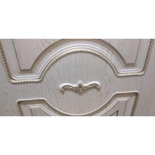 Дверь межкомнатная ЛЕОНАРДО, экошпон с патиной (ст. матовое)