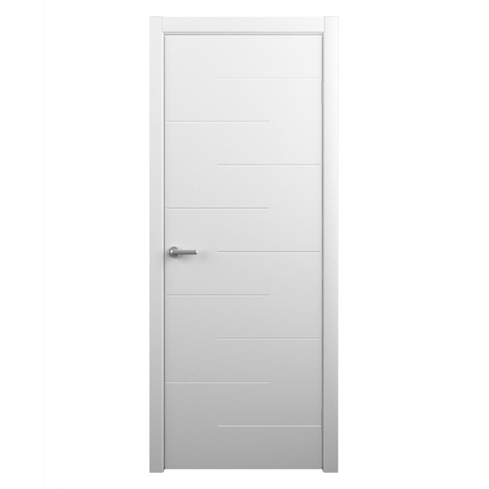Дверь межкомнатная ДЕЛЬТА, винил (глухая)