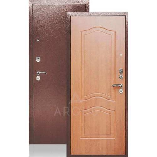 Стальная входная дверь Аргус ДА-22 Этюд Миланский Орех