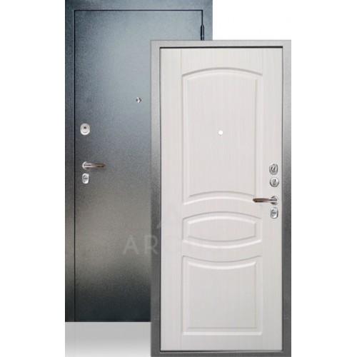 Стальная входная дверь Аргус ДА-61 Монако Белый ясень