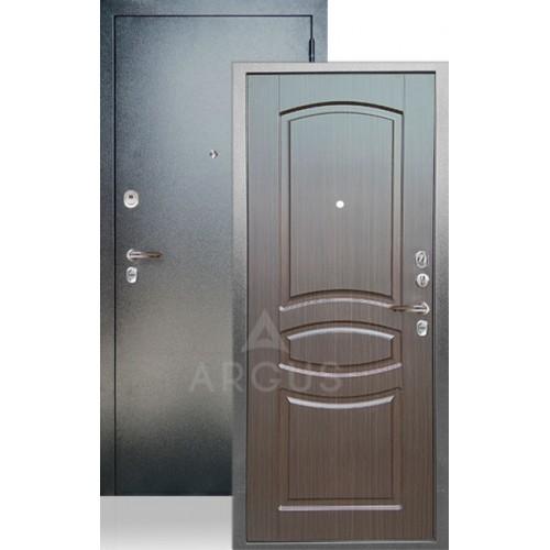 Стальная входная дверь Аргус ДА-61 Монако Венге Тисненный