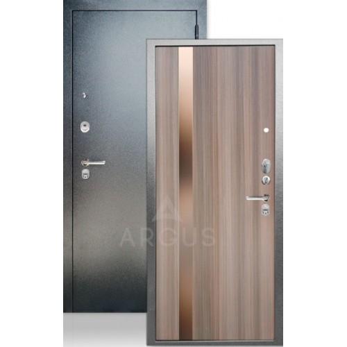 """Стальная входная дверь Аргус ДА-65 Соло Керамика с темным зеркалом """"Иден"""""""