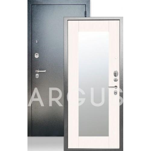Стальная входная дверь Аргус ДА-66 Милли Белый ясень ЛЮКС