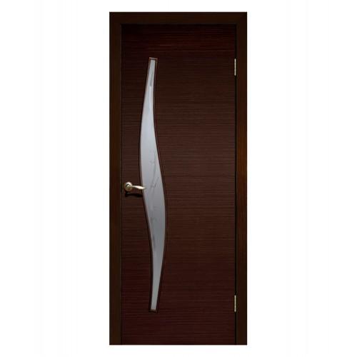 Дверь межкомнатная ВОЛНА, ламинированная (ст.матовое)