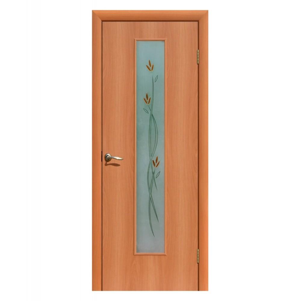 Дверь межкомнатная ВЕТКА, ламинированная (фьюзинг)