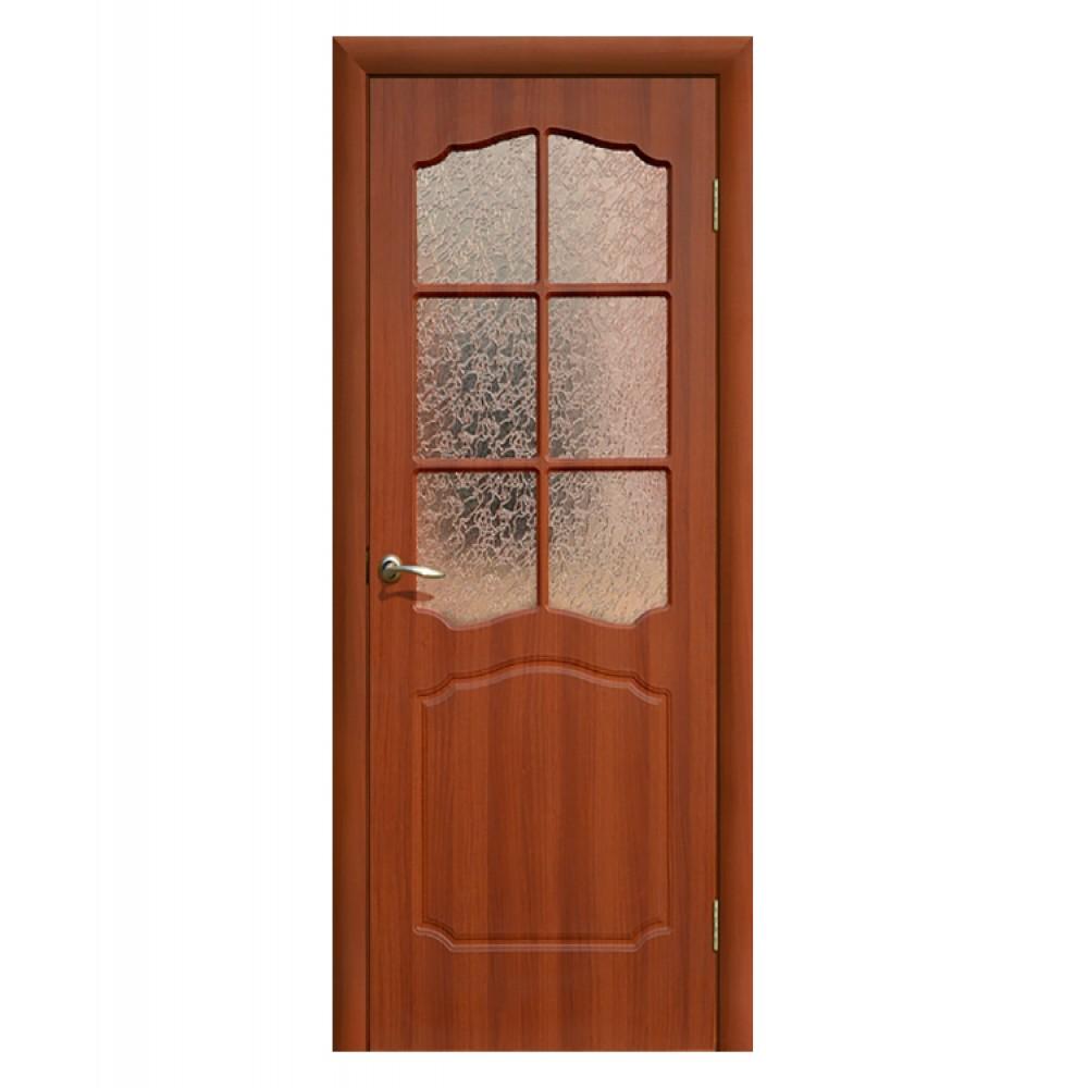 Дверь межкомнатная КЛАССИКА, пвх (ст. матовое)
