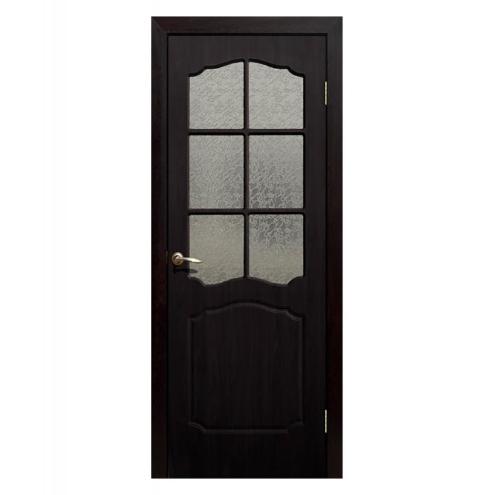Дверь межкомнатная ДО Классика (Венге)