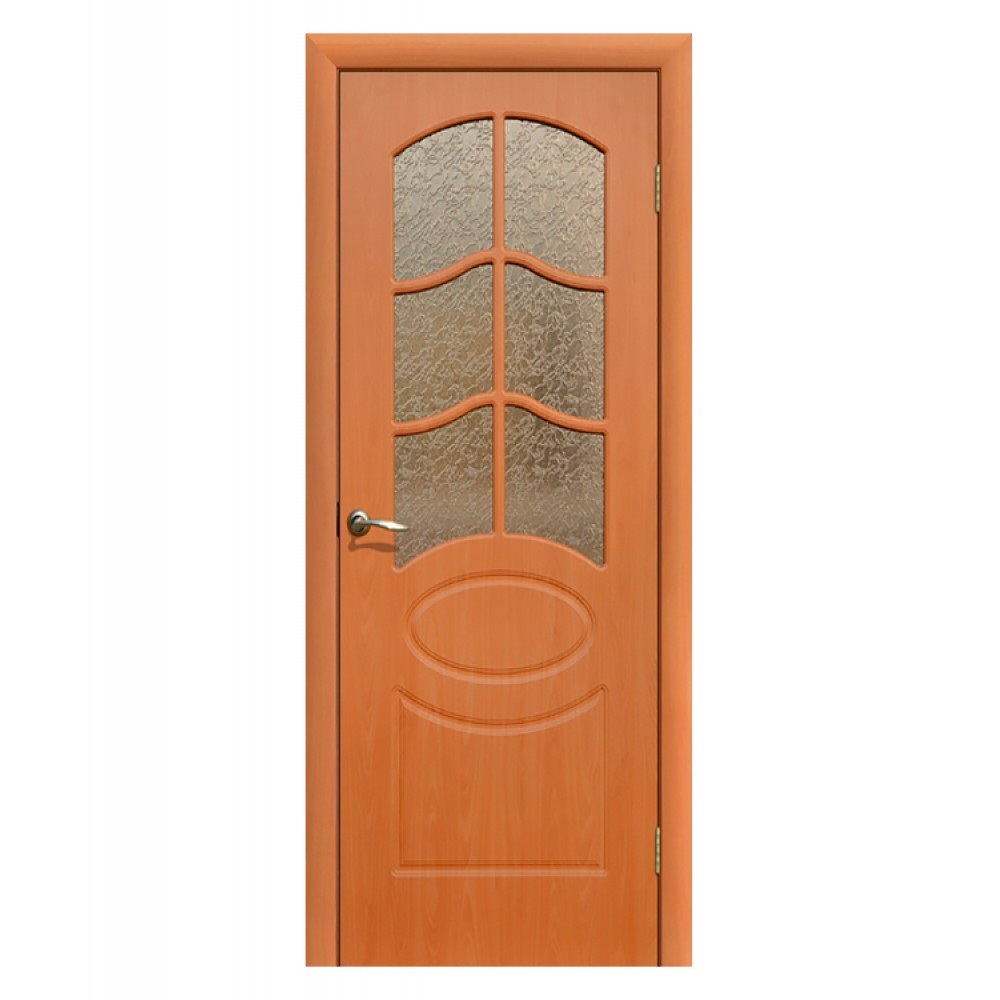 Дверь межкомнатная НЕАПОЛЬ, пвх (ст. матовое)