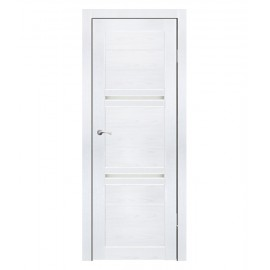 Дверь межкомнатная АЛЕССАНДРО (Ясень белый)