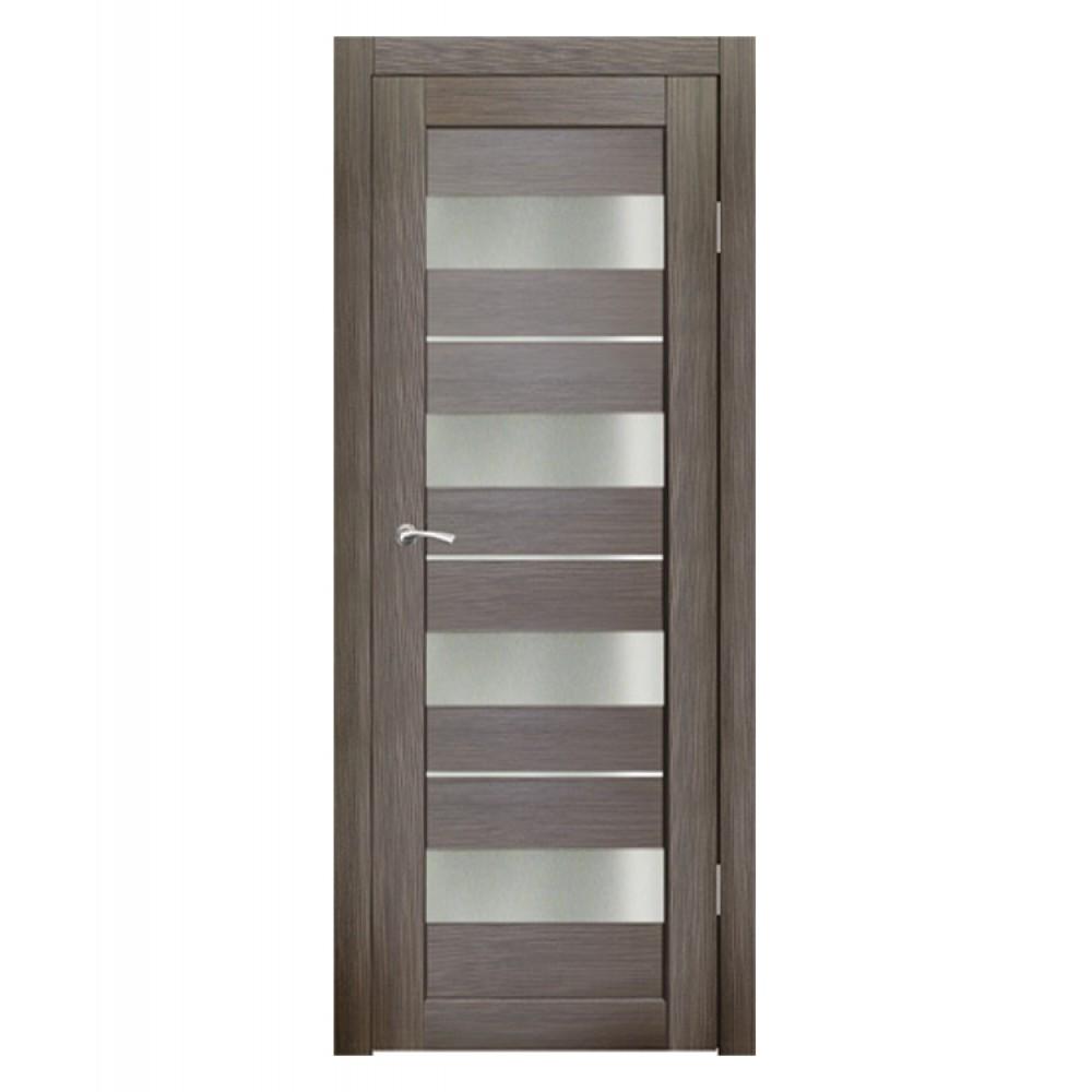 Дверь межкомнатная АЛЬФА (Акация темная)