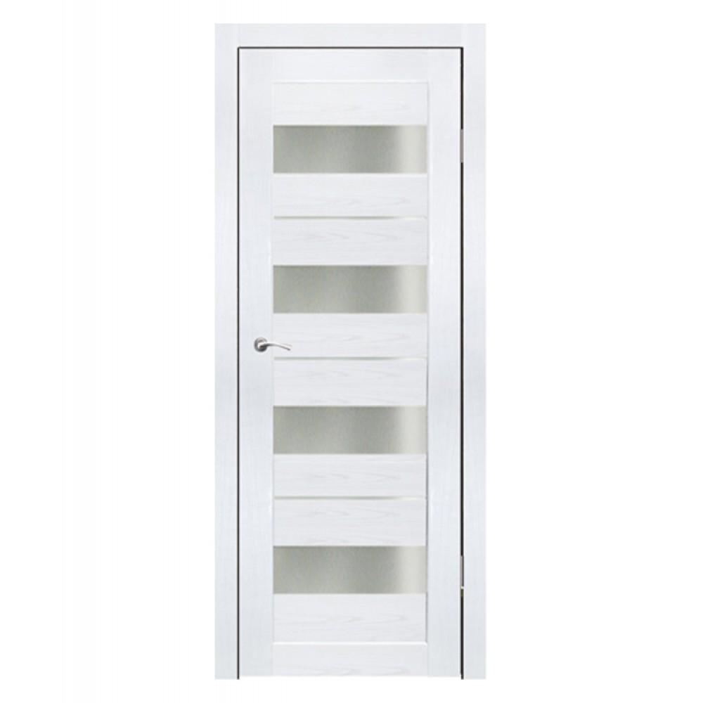 Дверь межкомнатная АЛЬФА (Ясень белый)