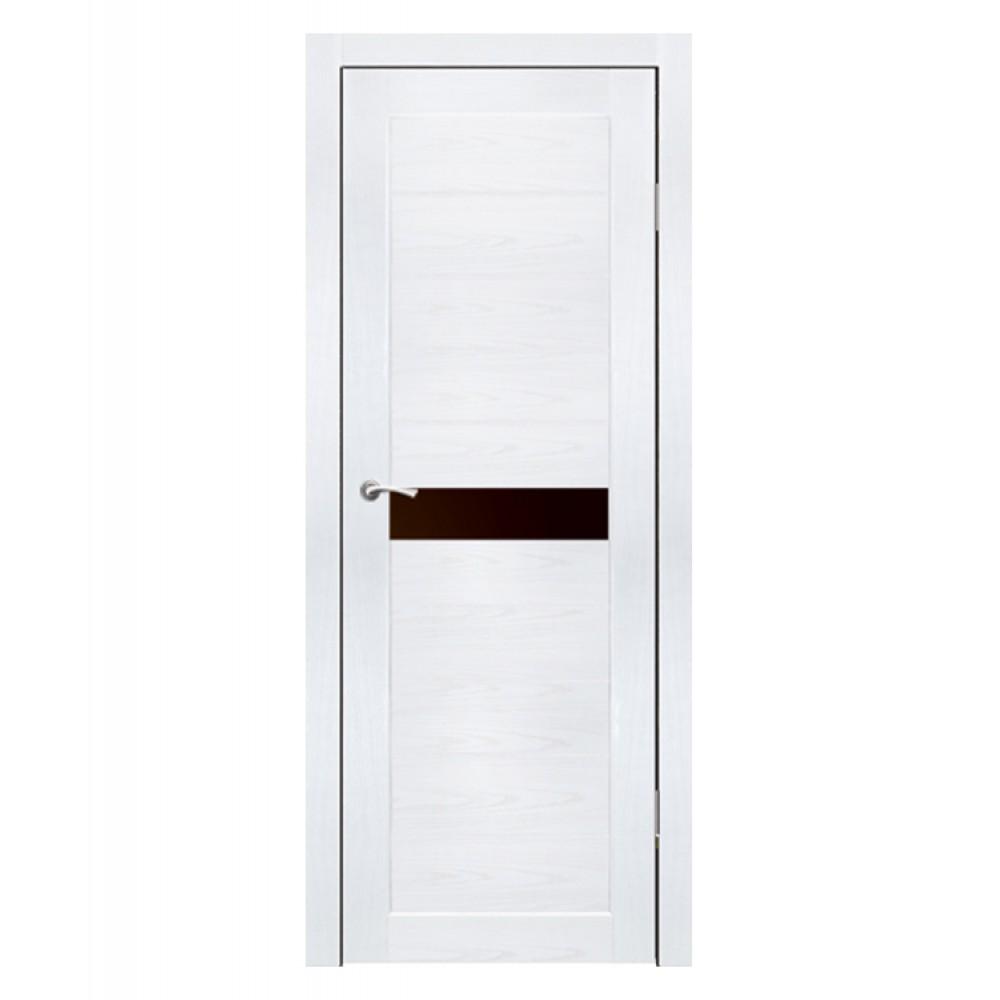Дверь межкомнатная ПРИМО, экошпон (ст. черное)