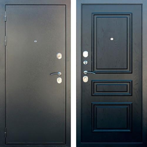 Входная дверь Броня Черный Роялвуд