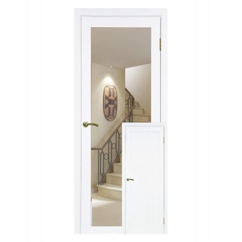 Дверь межкомнатная ТУРИН 501.1 зеркало, экошпон (глухая)